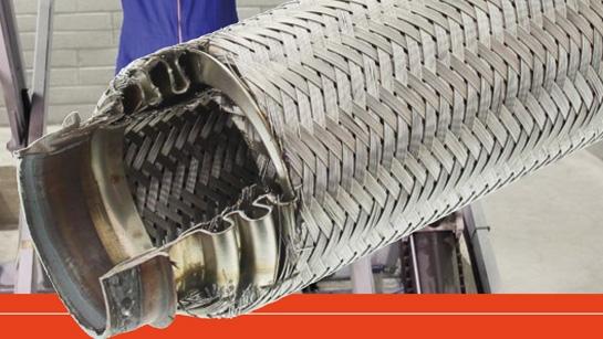 Tubo flexible y tubo flexible escalonado
