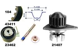 MAPCO 41411 Bomba de agua + kit correa distribución