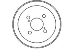MAPCO 35552 Tambor de freno