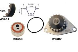 MAPCO 41401/1 Bomba de agua + kit correa distribución
