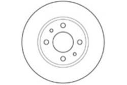MAPCO 15027 Disco de freno
