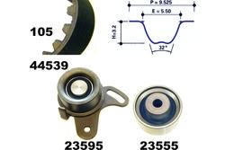 MAPCO 73539 Kit de correa de distribución
